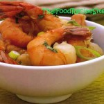 Stir-Fried Shrimp Garlic